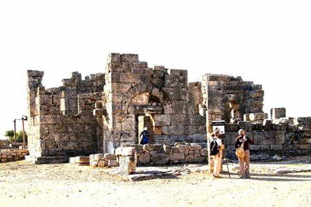 Kaunos Antik Kenti'ni 40 bin kişi ziyaret etti