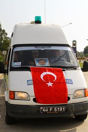 Şehit polis Özgür Gümüş son yolculuğuna uğurlandı