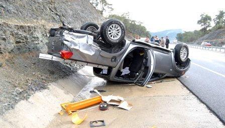 Ortaca'da trafik kazası