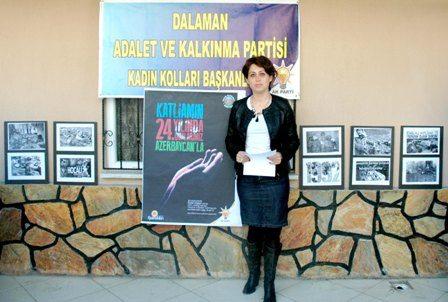 Ak Parti Dalaman Kadın Kolları Hocalı Katliamını kınadı