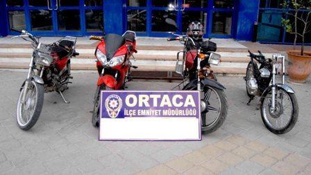 Ortaca'da motosiklet hırsızları tutuklandı