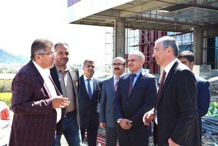 Ortaca Devlet Hastanesi inşaatı devam ediyor