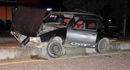 Ortaca'da trafik kazası, 1 ağır yaralı