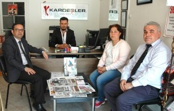 BİK'ten Gazetemize ziyaret