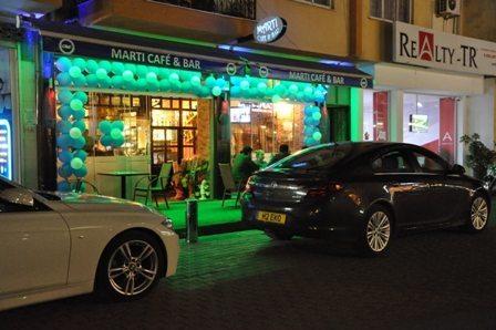 MARTI Cafe açıldı