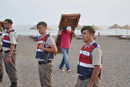 İztuzu Plajındaki işgal sonlandırıldı
