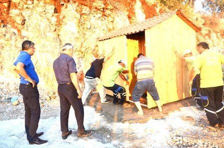 Dalaman Kaplıca Tesislerinde çalışmalar sürüyor