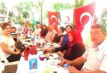 Dalaman Kızılay yönetimi kahvaltıda buluştu