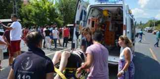 Ortaca'da trafik kazası, 1 yaralı