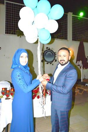 Kübra ile Ogün evliliğe adım attı
