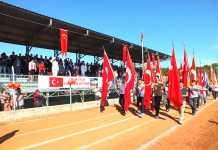 Dalaman'da 29  Ekim Cumhuriyet Bayramı  büyük bir coşku içinde kutlandı.