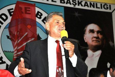CHP KAVAKLIDERE'DE BULUŞTU