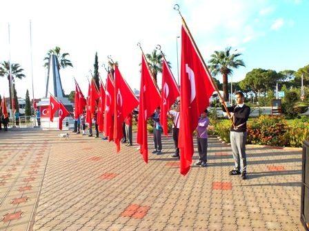 Büyük Önder Atatürk saygıyla anıldı