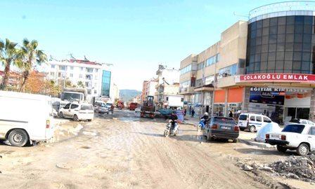 Dalaman Atatürk Caddesi sil baştan