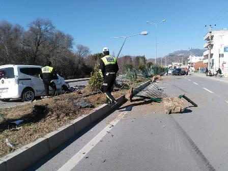 Dalaman'da feci kaza : 3 yaralı