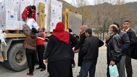 25 bin Suriyeli aileye yardım eli