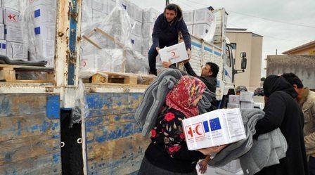 A 5 - 25 bin Suriyeli aileye yardım eli
