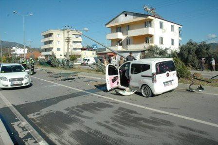 DSC 0016 1 - Dalaman'da feci kaza : 3 yaralı