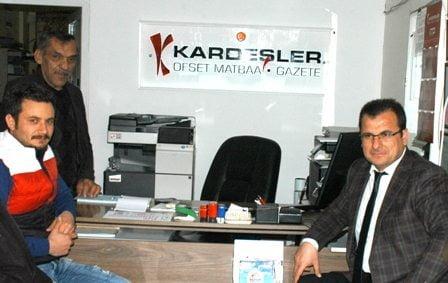 Güldoğan'dan Gazetemize ziyaret