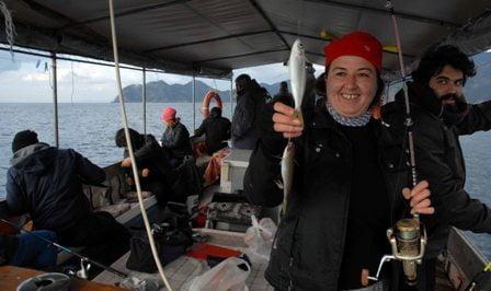 OMR 0032 - Dalyan'da Kefal balığı festivali