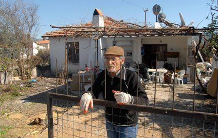 43 yıldır oturduğu evden tahliye ediliyor