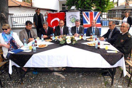İngiltere Büyükelçisi Köyceğiz'de