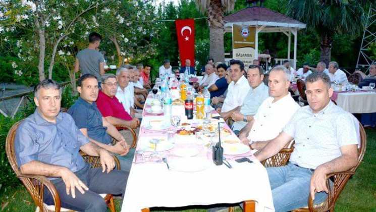 DSC 7718 - Kaymakam Güldoğan Dalaman Muhtarlarını ağırladı