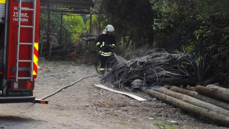 OMR 0003 - Hurda kablolar yandı