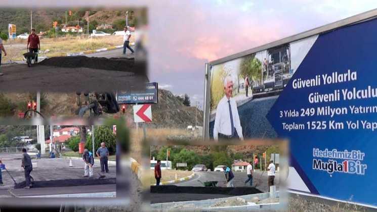 """yol 1 - Büyükşehir'in """"Yol imtihanı"""""""
