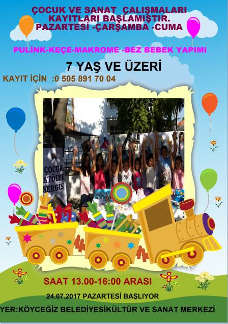 20155905 781700872017440 8717566492848162664 n - Köyceğiz'de Çocuk ve Sanat çalışmaları