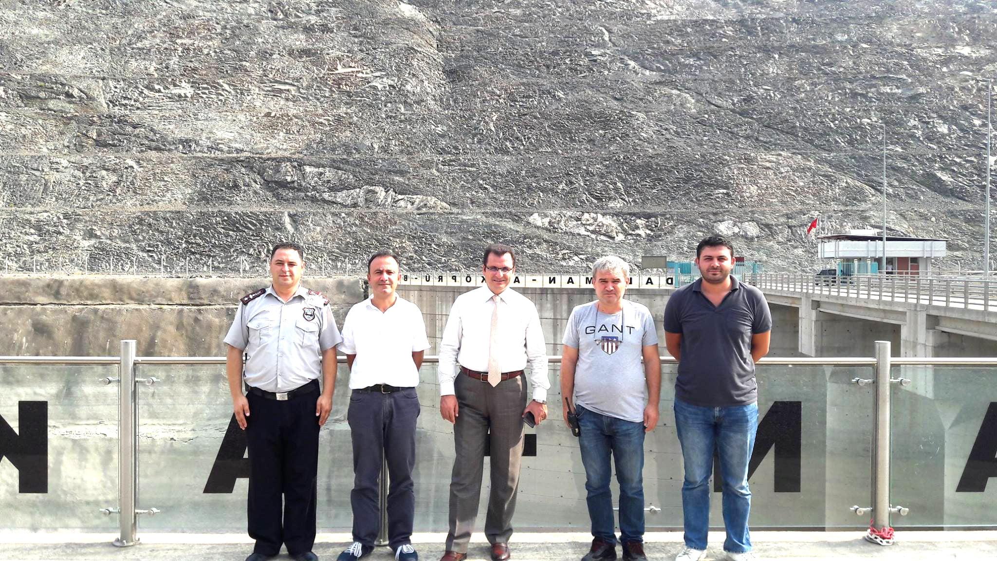 20643508 1998491680384331 952611952663159693 o - Kaymakam Güldoğan'dan Akköprü Barajına ziyaret