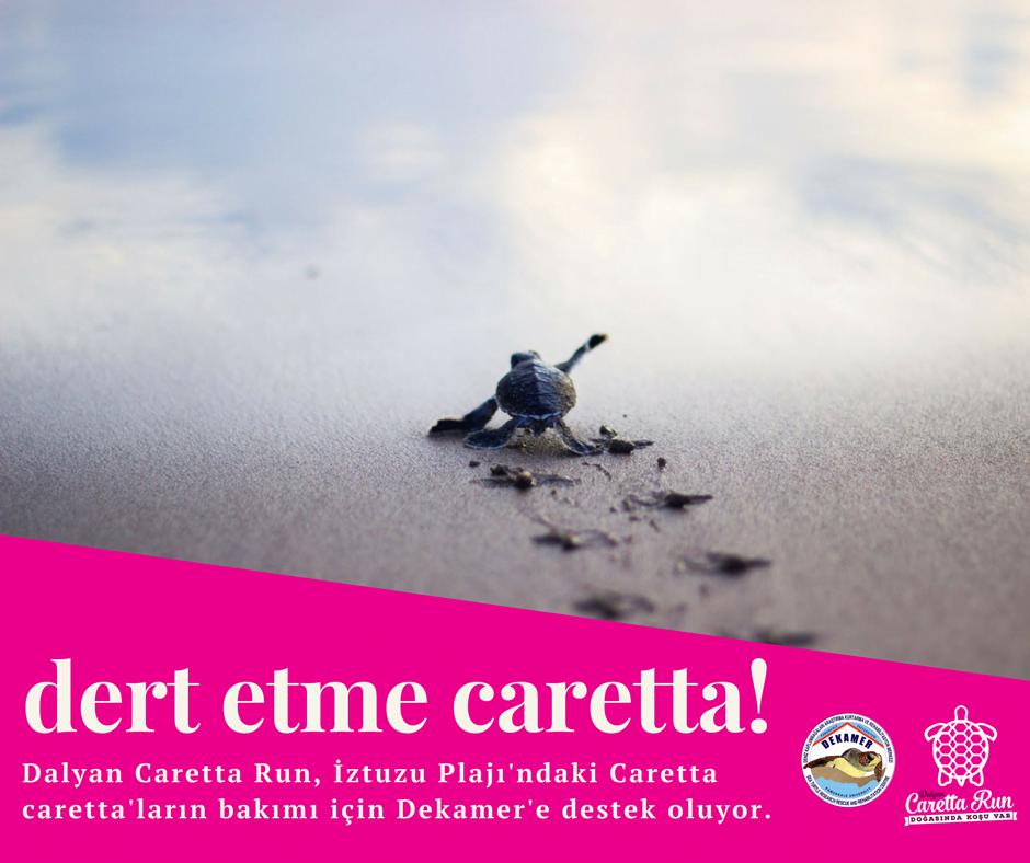 DERT ETME CARETTA - Caretta Run'a davet, DEKAMER'e destek çağrısı