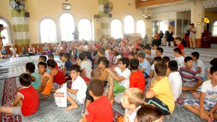OMR 0185 - Dalaman'da Çocuklara camide trafik eğitimi