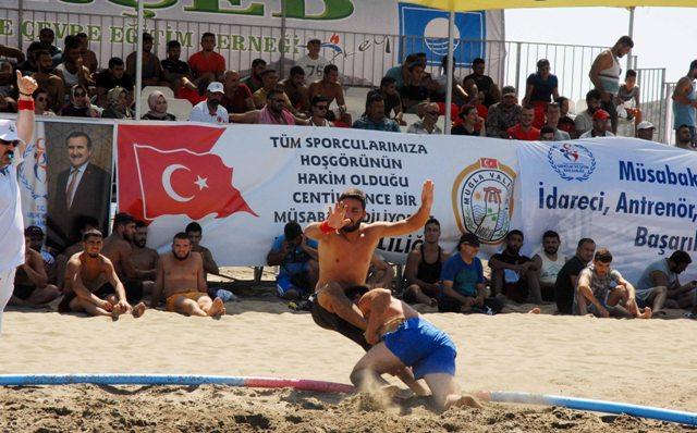 OMR 0007 - Türkiye Plaj Güreş  Şampiyonası Ortaca'da yapıldı