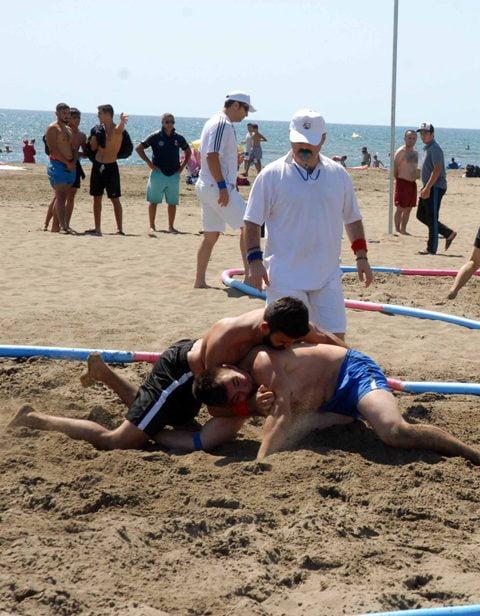 OMR 0014 - Türkiye Plaj Güreş  Şampiyonası Ortaca'da yapıldı