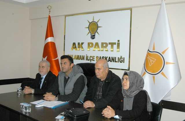 DSC 0084 -  AK PartiDalamandanışma  kurulu toplantısı yapıldı