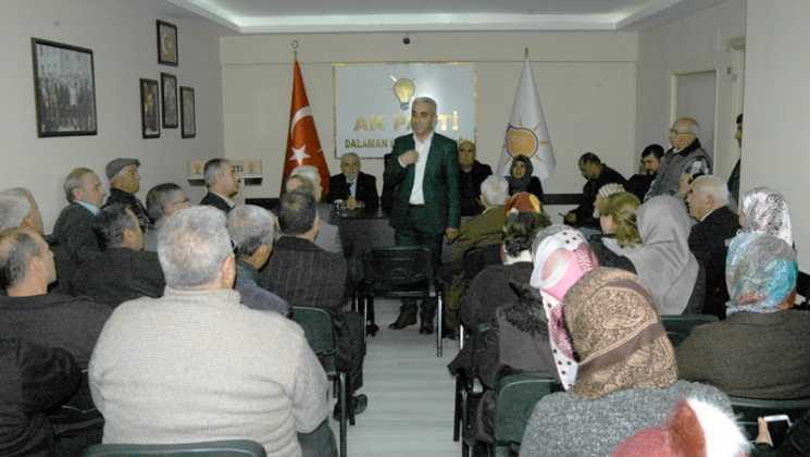 DSC 0088 -  AK PartiDalamandanışma  kurulu toplantısı yapıldı