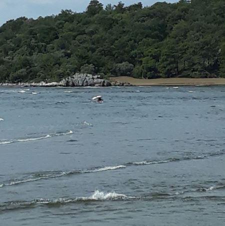 1 1 - Dalyan'da balıkçı teknesi battı