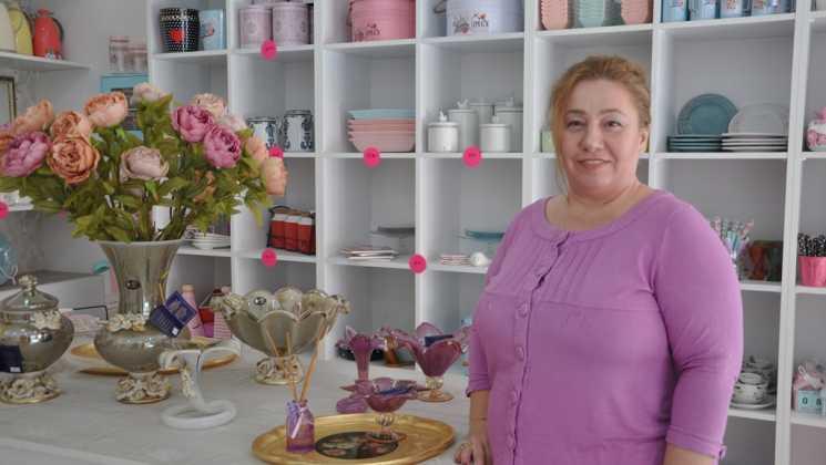 DSC 0313 - Kadın girişimciler Ege mahallesini canlandırdı