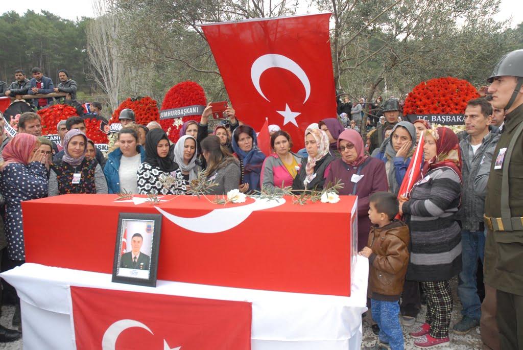 OMR 0326 - DALAMAN ŞEHİDİNİ SON YOLCULUĞUNA UĞURLADI