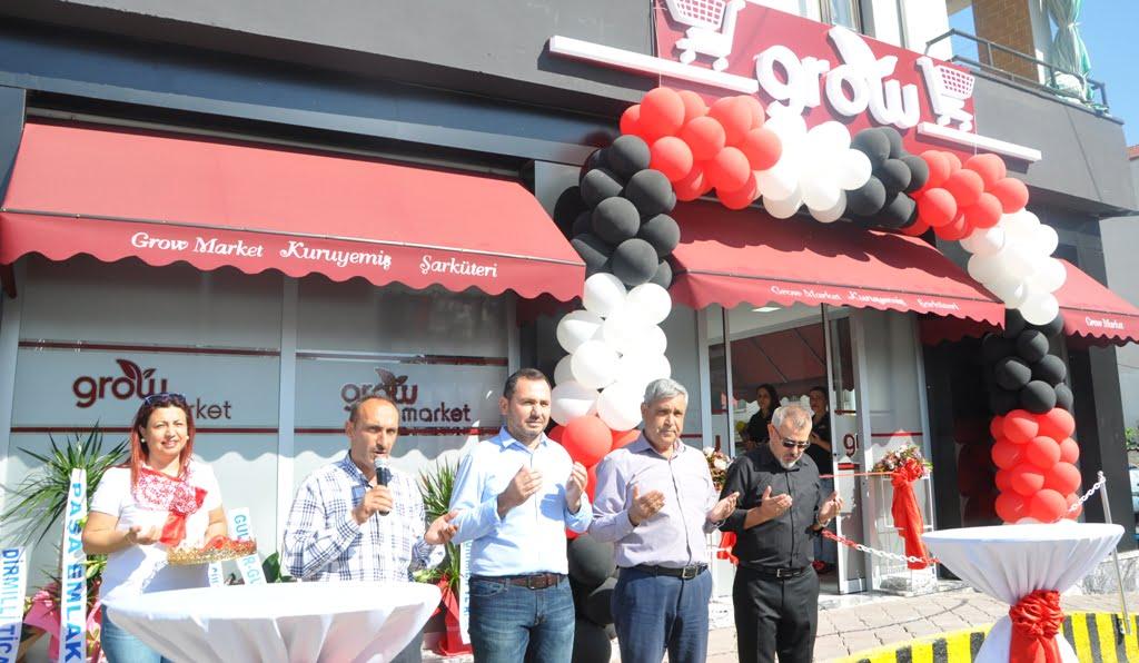 """DSC 0024 - Dalaman'ın yerel marketi """"grow"""" hizmete girdi."""