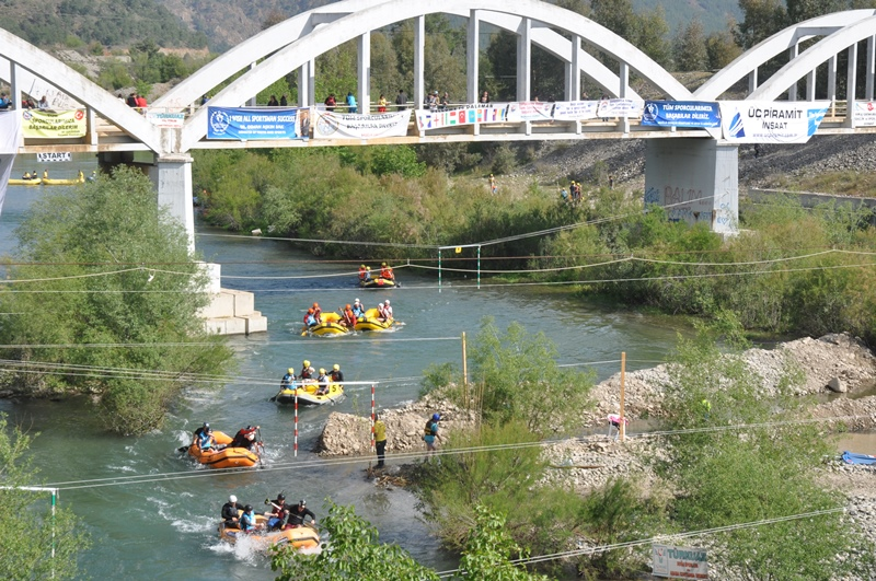 DSC 7703 - Türkiye Rafting şampiyonası Dalaman'da yapıldı