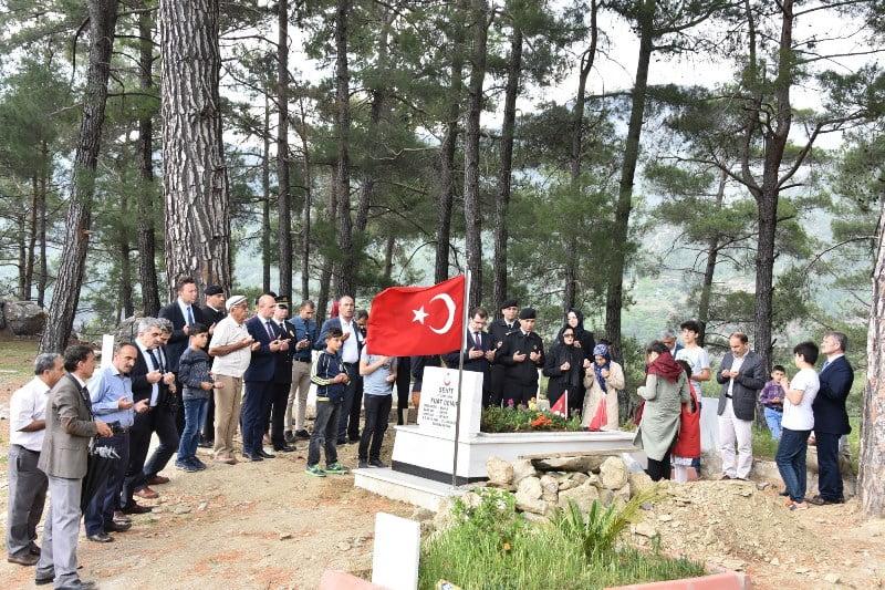 bsn 03 - Afrin Şehidi Fuat Demir için Mevlid okutuldu