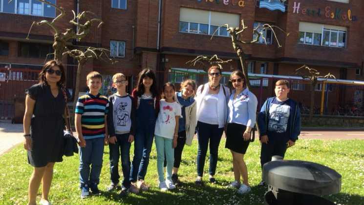 2a 1 - Dalaman Hürriyet İlkokulu İspanya'da
