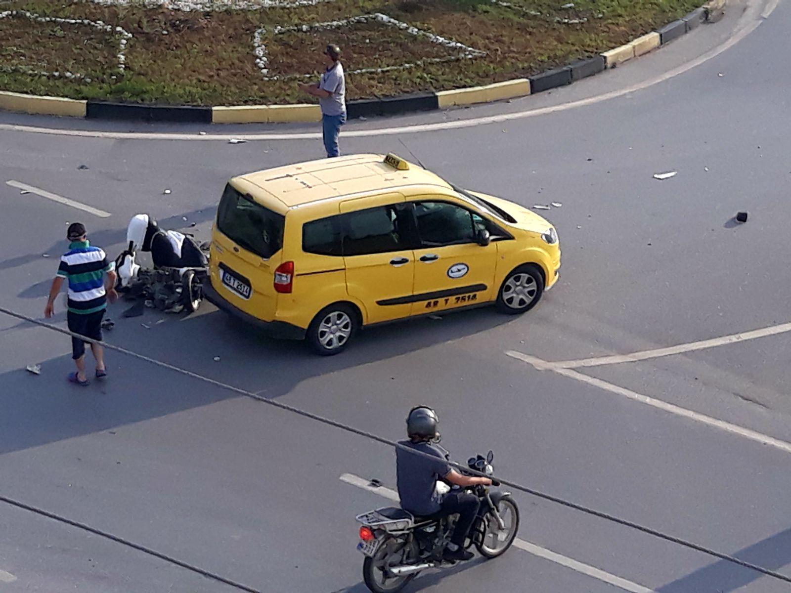 301f7528 75ba 401e bad3 531a6db65f2d - Dalaman'da trafik kazası, 1 kişi ağır yaralı