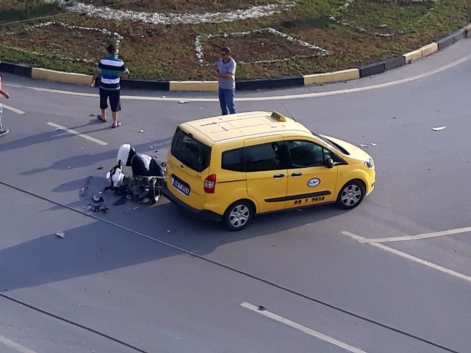 4d61400b 7c6c 4584 ab52 2eafb1d6d5f8 - Dalaman'da trafik kazası, 1 kişi ağır yaralı