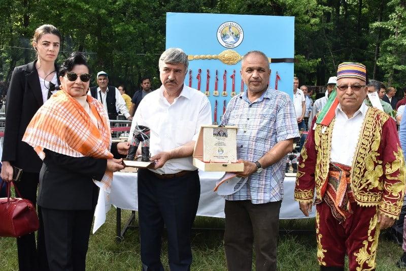 Bsn 04 - Muğla Valisi Esengül Civelek;  Köyceğiz'deki Güreş ve Kültür Şenliğine katıldı