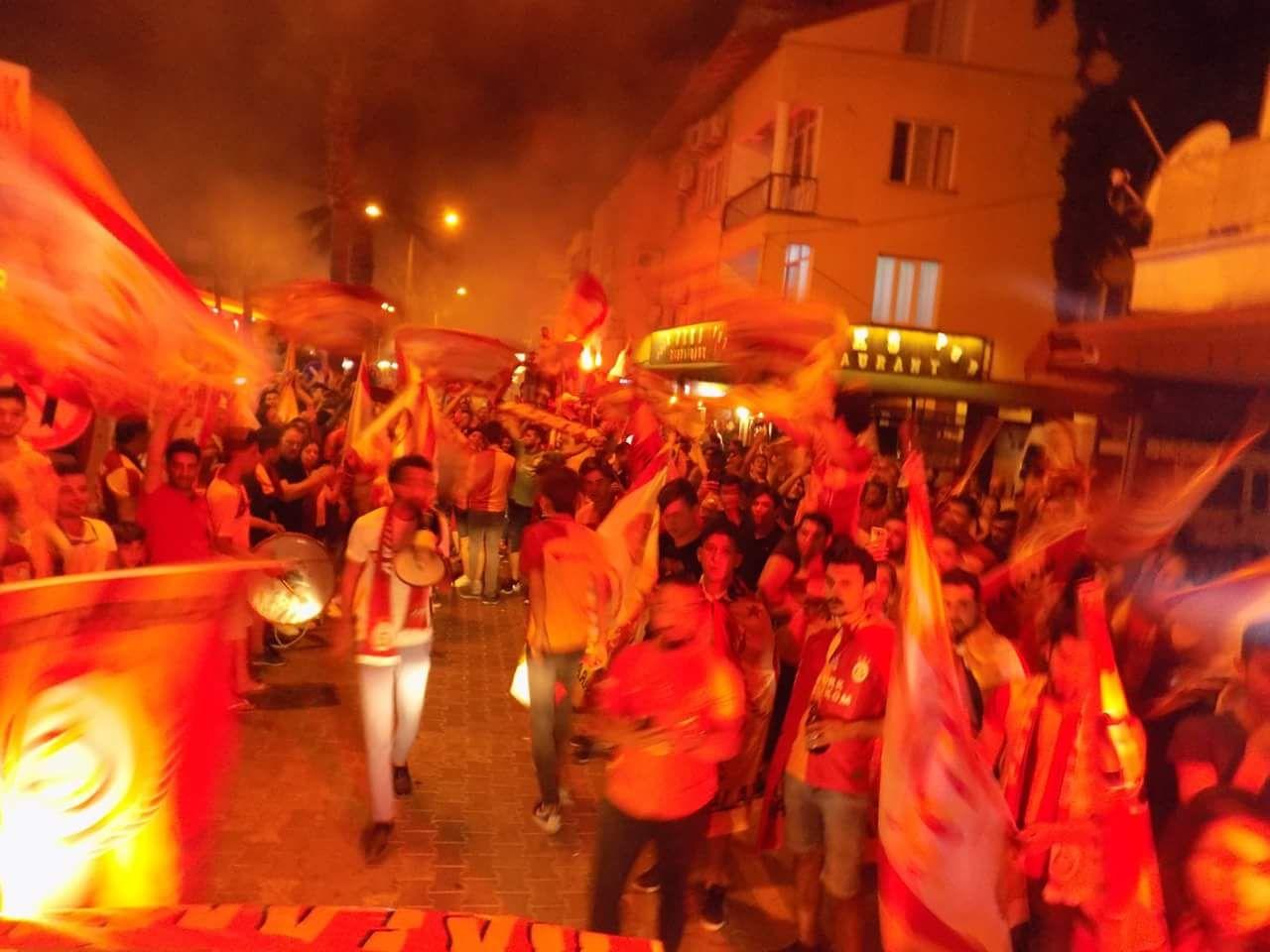 IMG 20180520 WA0058 - Dalaman'da Galatasaray'ın şampiyonluk kutlaması