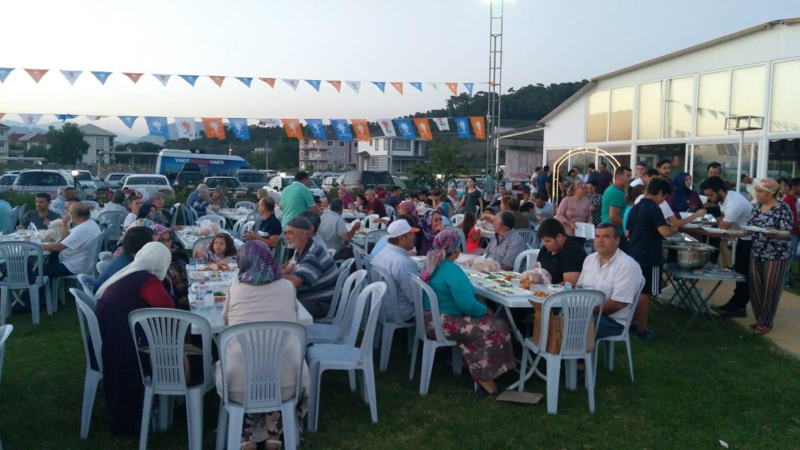 IMG 20180608 WA0022 - Dalaman AK Parti İftar yemeği düzenledi