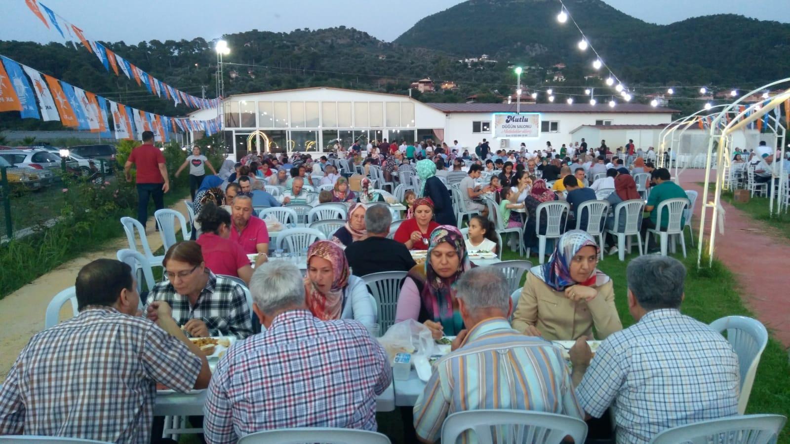 IMG 20180608 WA0024 - Dalaman AK Parti İftar yemeği düzenledi